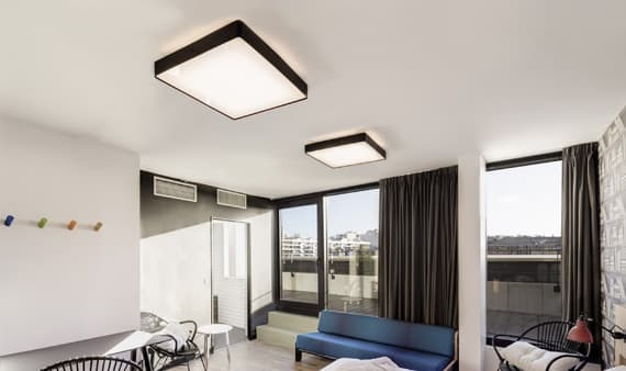 Hotel Generator Paris custom lighting insolit made in barcelona luminaires sur mesure dessin