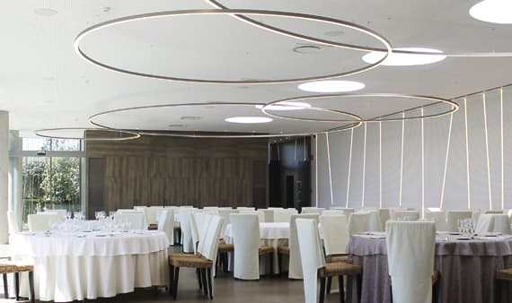 lamparas de diseno a medida insolit lighting custom suspension pendant colgantes circular circulares