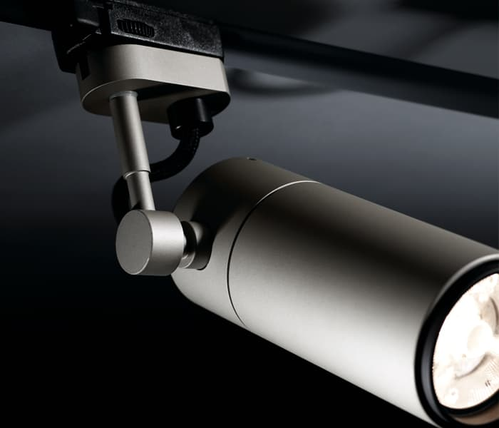 Focus line insolit wilmotte projecteur led gu10 spotlight custom lamps made in barcelona lampes sur
