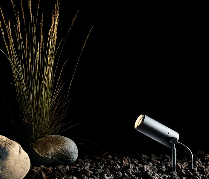 focus line spike estoque piquet ip65 exterior lighting wilmotte garden light jardin ansi 316 proyect
