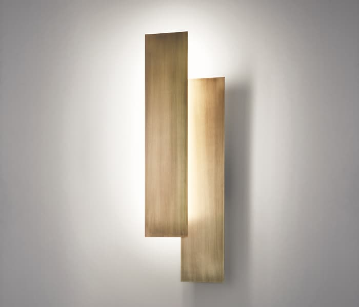 plaque combinations bronze bronce modular wall lamp indirect light ambient light lampara de diseño