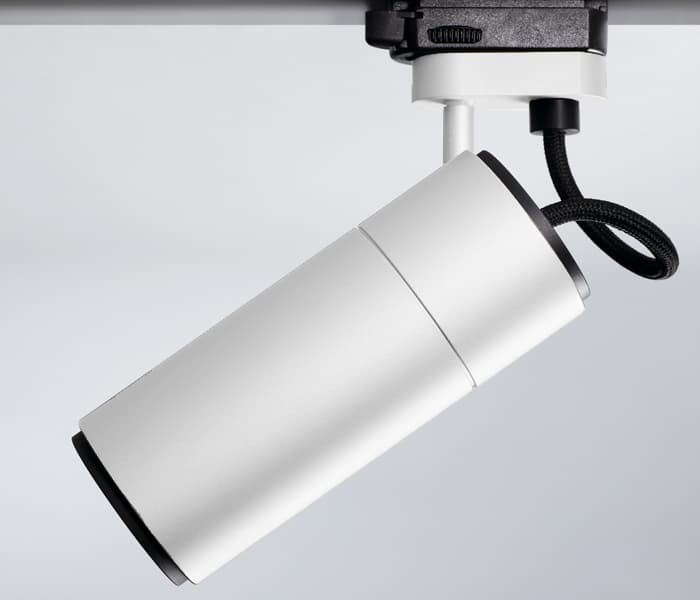 focus line white blanc insolit minimalism light architectural lighting made in Barcelona