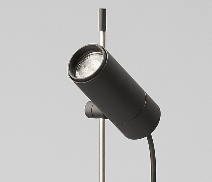 outdoor lamp with spike designed by Wilmotte