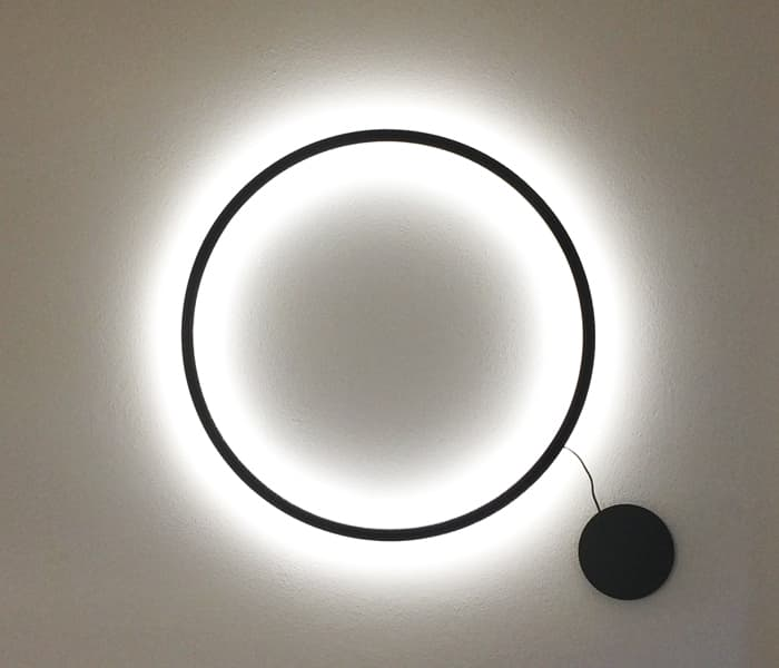 tr wall lamp sconce circular insolit xucla design indirect light diameter modular lamp aplique pared