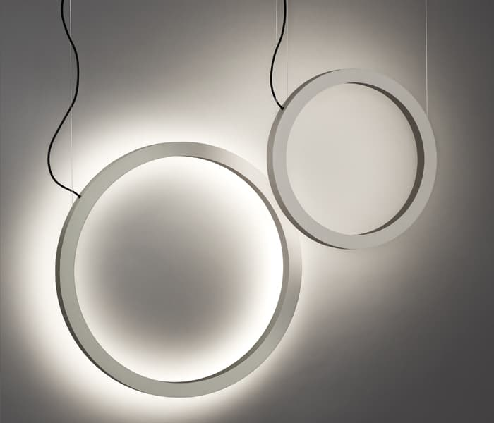 tr insolit pendant round circular lamp ring suspension aro led custom lighting lamparas a medida mad