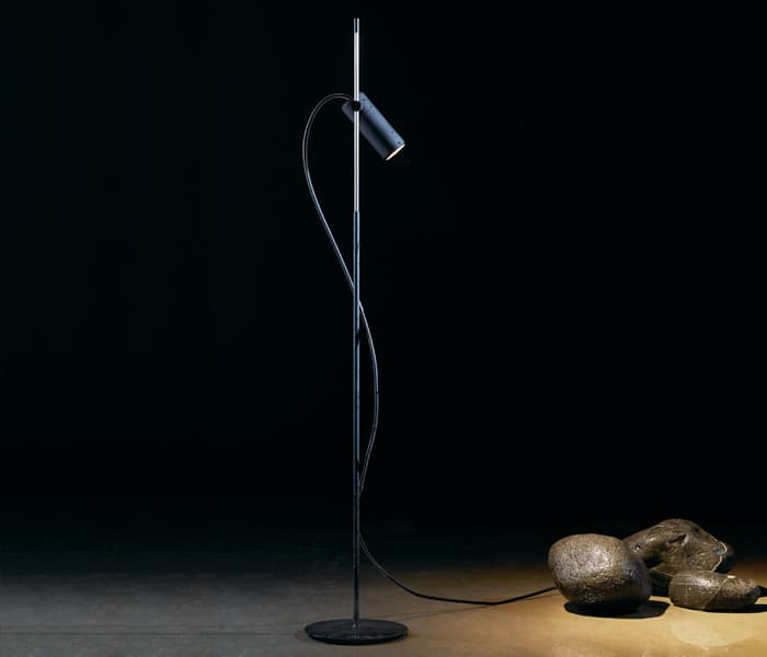 focus line floor lamp spike ip65 outdoor lighting insolit wilmotte spotlight double light AISI 316 d